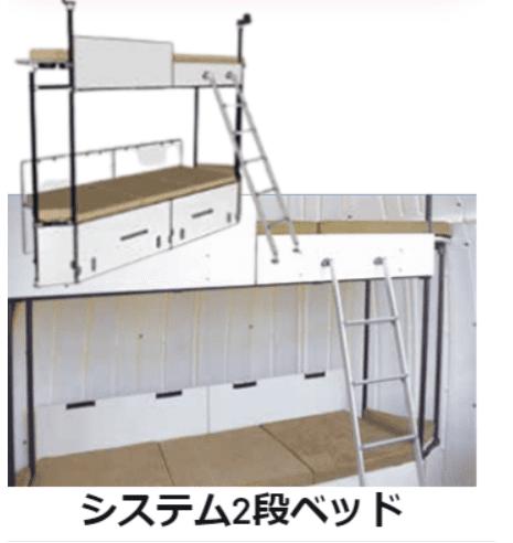 システム二段ベッド